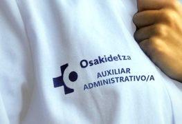 OSAKIDETZA AUXILIAR ADMINISTRATIVO/A