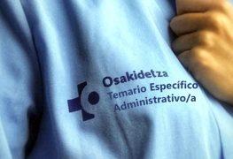 OSAKIDETZA TEMARIO ESPECÍFICO ADMINISTRATIVO/A